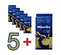 Набор из 6 упаковок Молотого кофе CREMA 250 г | Акция 5+1