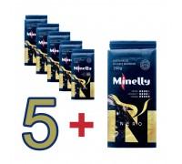 Набор из 6 упаковок Молотого кофе NERO 250 г | Акция 5+1