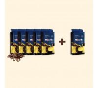 Набір з 6 упаковок меленої кави CREMA 250 г | Акція 5+1