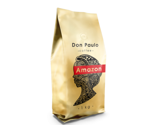 Кофе в зернах Amazon, Don Paulo TM, 1 кг