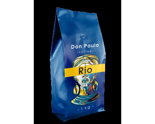 Кофе в зернах RIO, Don Paulo TM, 1 кг