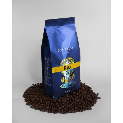 Кава в зернах RIO, Don Paulo TM, 1 кг