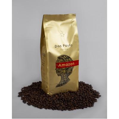 Кава в зернах Amazon, Don Paulo TM, 1 кг